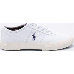 Polo Ralph Lauren - Tenisówki Tyrian. Szare tenisówki męskie marki Polo Ralph Lauren, z gumy, na sznurówki. W wyprzedaży za 219,90 zł.