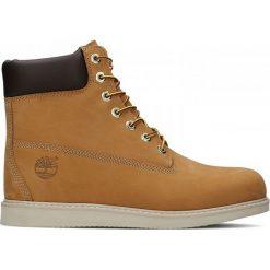 Buty Timberland Newmarket 6 Inch Wedge (44529). Brązowe buty trekkingowe męskie Timberland, z materiału, outdoorowe. Za 499,99 zł.