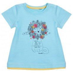 Sukienki dziewczęce z falbanami: Tunika z krótki rękawem dla dziecka 0-3 lata
