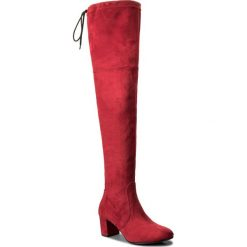 Muszkieterki R.POLAŃSKI - 0802 Czerwony. Czarne buty zimowe damskie marki R.Polański, ze skóry, na obcasie. W wyprzedaży za 259,00 zł.