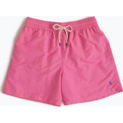 Polo Ralph Lauren - Męskie spodenki kąpielowe, różowy. Czerwone kąpielówki męskie marki Polo Ralph Lauren, m. Za 249,95 zł.