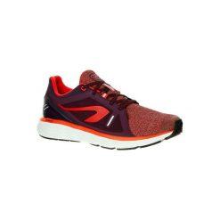 Buty Do Biegania Run Comfort Męskie. Czerwone buty do biegania damskie marki KALENJI, z poliesteru. W wyprzedaży za 129,99 zł.