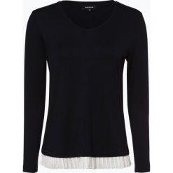 More & More - Damska koszulka z długim rękawem, niebieski. Niebieskie t-shirty damskie More & More, z dżerseju. Za 199,95 zł.