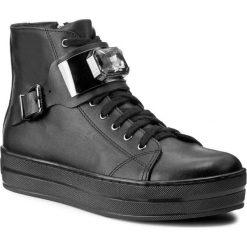 Sneakersy ROBERTO - 549/K Czarne Lico. Czarne sneakersy damskie Roberto, ze skóry. W wyprzedaży za 239,00 zł.