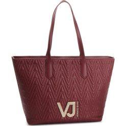 Torebka VERSACE JEANS - E1VSBBI4 70784 331. Czerwone torebki klasyczne damskie Versace Jeans, z jeansu. Za 729,00 zł.