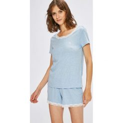 Lauren Ralph Lauren - Piżama. Szare piżamy damskie Lauren Ralph Lauren, m, z bawełny. W wyprzedaży za 269,90 zł.