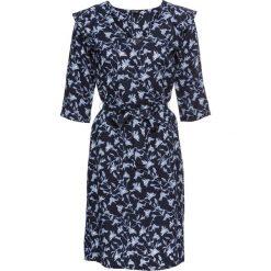 Sukienki: Sukienka z nadrukiem bonprix ciemnoniebieski z nadrukiem