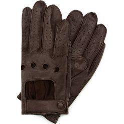 Rękawiczki męskie 46-6L-386-B. Brązowe rękawiczki męskie marki Wittchen. Za 99,00 zł.