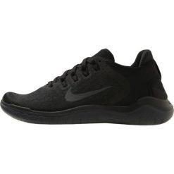 Nike Performance FREE RN 2018 Obuwie do biegania neutralne black/anthracite. Czarne buty do biegania damskie marki Nike Performance, z materiału. Za 459,00 zł.