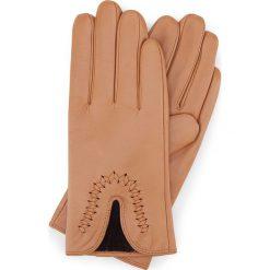 Rękawiczki damskie 39-6-552-LB. Białe rękawiczki damskie Wittchen, z polaru. Za 99,00 zł.