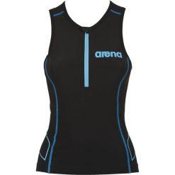 Topy damskie: Arena Koszulka triathlonowa damska Triathlon Top ST czarna r. L (1A916/55)