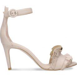 Sandały OLIVIA. Białe sandały damskie marki Coqui, na wysokim obcasie. Za 249,90 zł.