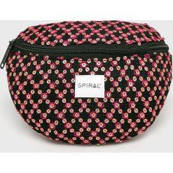 Spiral - Nerka. Różowe walizki marki Spiral, z haftami, z materiału. Za 79,90 zł.
