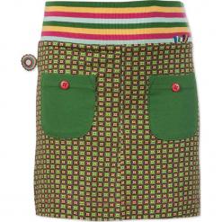 """Spódnica """"Beautiful"""" w kolorze różowo-zielonym. Czerwone spódniczki dziewczęce marki 4FunkyFlavours Kids, mini. W wyprzedaży za 82,95 zł."""