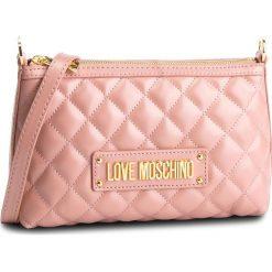 Torebka LOVE MOSCHINO - JC4009PP17LA0600  Rosa. Czerwone listonoszki damskie Love Moschino, ze skóry ekologicznej. Za 589,00 zł.