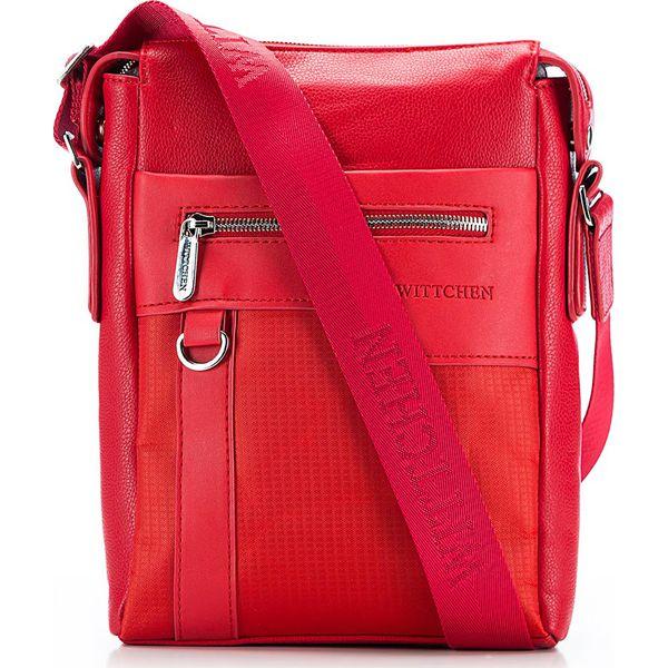 44e6984df7785 86-4P-100-3 Torba - Czerwone torby męskie na ramię marki Wittchen, w ...