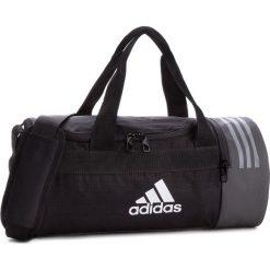 Torba adidas - 3S CVRT DUF XS CG1531  Black/White/White. Czarne torebki klasyczne damskie Adidas, z materiału. W wyprzedaży za 119,00 zł.