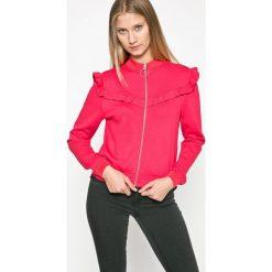 Only - Bluza Stine. Różowe bluzy rozpinane damskie ONLY, l, z dzianiny, bez kaptura. W wyprzedaży za 99,90 zł.