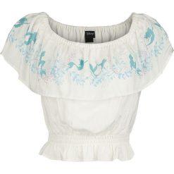 Bluzki, topy, tuniki: Ariel - Mała Syrenka Seawood Koszulka damska biały (Old White)