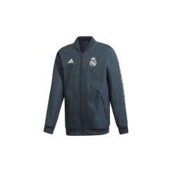 Kurtki krótkie adidas  Bluza wyjazdowa Real Madryt Anthem. Szare bluzy męskie Adidas, m, z krótkim rękawem, krótkie. Za 329,00 zł.
