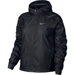 Nike Kurtka damska Shield Running Jacket czarna r. M (799853 010). Czarne kurtki sportowe damskie marki Nike, xs, z bawełny. Za 325,00 zł.