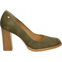 Czółenka - 1398 370 BEIG. Brązowe buty ślubne damskie Venezia, ze skóry. Za 199,00 zł.