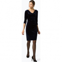 Ambiance - Sukienka damska, niebieski. Czarne sukienki balowe marki bonprix, w paski, z dekoltem woda. Za 499,95 zł.