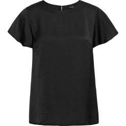 Bluzki asymetryczne: Bluzka z rękawami motylkowymi bonprix czarny