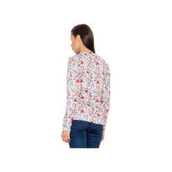 Bluza M541 Wzór 57. Szare bluzy damskie marki FIGL, m, z bawełny, eleganckie, z asymetrycznym kołnierzem, z długim rękawem. Za 149,00 zł.