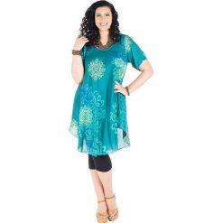 Odzież damska: Sukienka w kolorze turkusowym