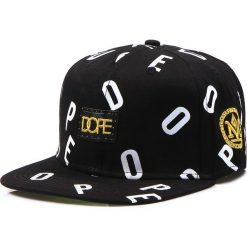 Czapka męska snapback czarna (hx0184). Czarne czapki z daszkiem męskie marki Dstreet, z aplikacjami, eleganckie. Za 69,99 zł.