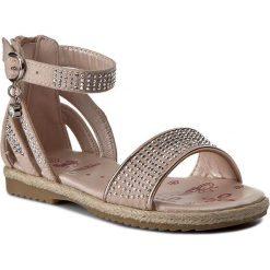 Sandały dziewczęce: Sandały NELLI BLU – CS17002-6 Różowy Jasny
