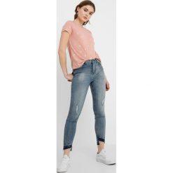 Boyfriendy damskie: JDY HIGH CALL  Jeans Skinny Fit medium blue denim
