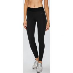 Adidas Performance - Legginsy. Czarne legginsy adidas Performance, m, z bawełny. Za 179,90 zł.