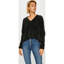 Noisy May - Sweter. Czarne swetry oversize damskie Noisy May, l, z dzianiny. Za 149,90 zł.