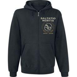 Bejsbolówki męskie: Saltatio Mortis Anchor Skull Bluza z kapturem rozpinana czarny