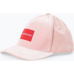 Czapki damskie: Calvin Klein Jeans - Damska czapka z daszkiem, różowy