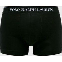 Polo Ralph Lauren - Bokserki. Czarne bokserki męskie Polo Ralph Lauren, z bawełny. Za 169,90 zł.