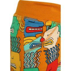 Mainio ZGREEN FACES CHILDREN`S ZIPUP SWEATPANTS Spodnie treningowe orange. Brązowe spodnie chłopięce marki Mainio, z bawełny. W wyprzedaży za 126,75 zł.