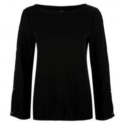 S.Oliver Koszulka Damska 34 Czarny. Czarne bluzki z odkrytymi ramionami marki S.Oliver, s, z materiału. Za 139,00 zł.