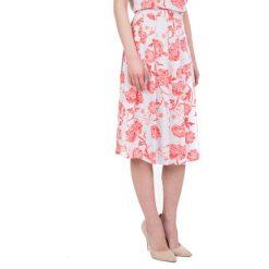 Spódniczki: Lekka wiosenna spódnica we wzory BIALCON