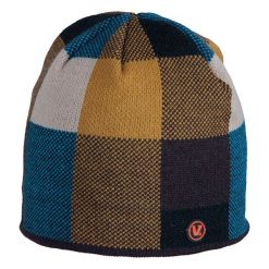 Czapki męskie: Viking Czapka Regular niebiesko-pomarańczowa (210/17/8198)