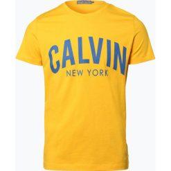 Calvin Klein Jeans - T-shirt męski, żółty. Żółte t-shirty męskie z nadrukiem Calvin Klein Jeans, m, z jeansu. Za 139,95 zł.