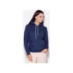 Bluzy damskie: Bluza K093 Granat