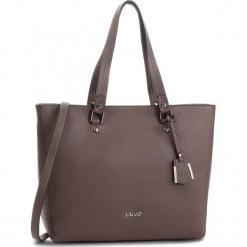 Torba LIU JO - L Tote Isola N68006 E0033 Ginger 81306. Czarne torebki klasyczne damskie marki Liu Jo, z materiału. Za 649,00 zł.