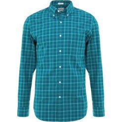 Koszule męskie na spinki: J.CREW SLIM STRETCH WASHED ARNOLD PLAID Koszula deep patina