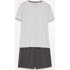 Piżama z szortami - Szary. Szare piżamy męskie marki Reserved, l. Za 59,99 zł.