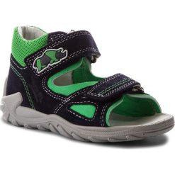 Sandały SUPERFIT - 2-00011-81 S Ocean Kombi. Niebieskie sandały męskie skórzane marki Superfit. W wyprzedaży za 189,00 zł.