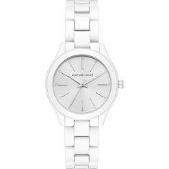 Zegarek MICHAEL KORS - Slim Runway MK3908 White/White. Białe zegarki damskie Michael Kors. Za 1145,00 zł.