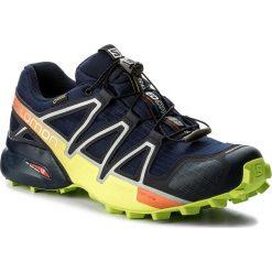 Buty SALOMON - Speedcross 4 Gtx GORE-TEX 400938 27 V0 Medieval Blue/Acid Lime/Graphite. Czarne buty do biegania męskie marki Camper, z gore-texu, gore-tex. W wyprzedaży za 459,00 zł.